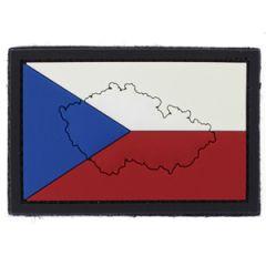 PVC Czech Republic Flag Patch