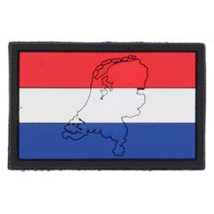 PVC Netherlands Flag Patch