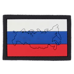 PVC Russia Flag Patch