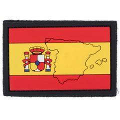 PVC Spain Flag Patch