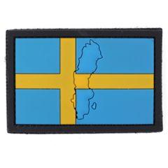 PVC Sweden Flag Patch