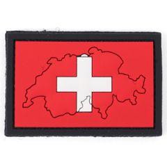 PVC Switzerland Flag Patch