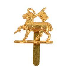 British Queens Regiment Cap Badge