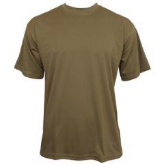 Quickdry Dark Coyote T-Shirt - Thumbnail