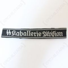 Raballerie Division BEVO Cuff Title - Imperfect Front