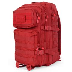 Red  MOLLE Assault Pack - Large size