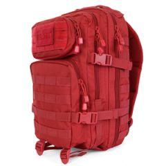 Red MOLLE Assault Pack -  Regular Size