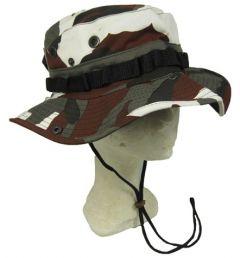 Urban Red Camo Bush Hat