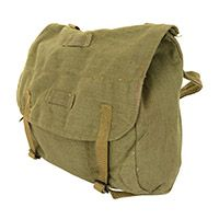 Romanian Olive Drab Bread Bag with Strap - Type 2