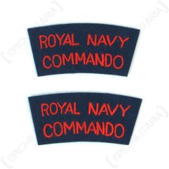 Royal Navy Commando Shoulder Titles