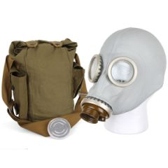 Russian GP5 Gas Mask with Accessories - Grey 1