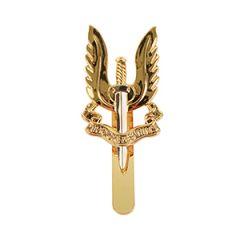 British SAS Regiment Cap Badge - Silver