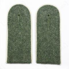 Infantry EM Shoulder Boards Field Grey (White piped)
