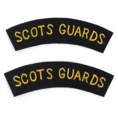 Scots Guards Shoulder Titles Thumbnail