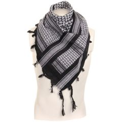 Shemagh Headscarf - Black and White