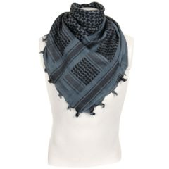 Shemagh Headscarf - Blue and Black