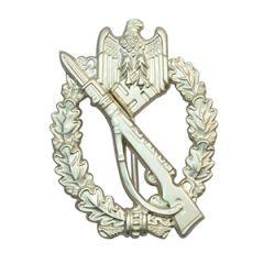 WW2 German Infantry Assault badge - Silver