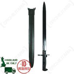 Garand M1 Long Bayonet and M3 Scabbard