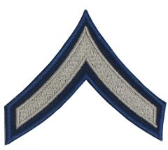 Private First Class Rank Badge