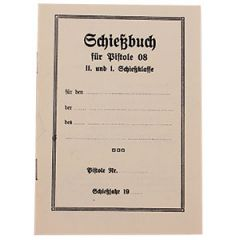 German P08 Proof of Training License