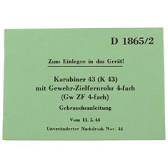 Gewehr 43 & Karabiner 43 Manual