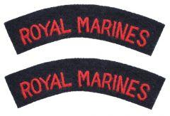 Royal Marines Shoulder Titles
