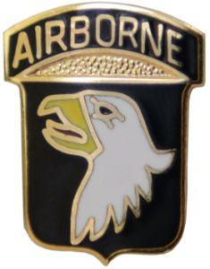 101st Airborne Pin Badge
