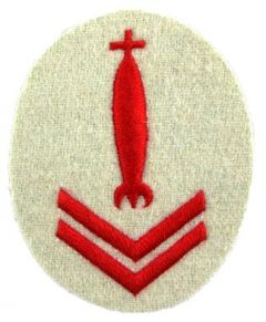 Kriegsmarine Torpedo Control Senior Specialist Trade Badge