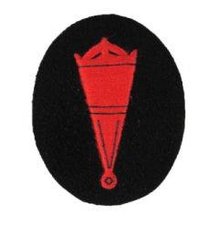 Kriegsmarine Blockade Weapons Specialist Trade Badge - Blue backing
