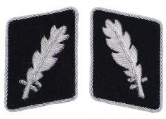 Waffen-SS Standartenfuhrer Collar Tabs