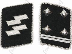 WW2 German Waffen-SS Obersturmbannfuhrer Collar Tabs