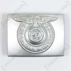 Waffen-SS Silver Belt Buckle