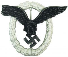WW2 German Metal Luftwaffe Pilot Badge