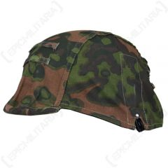 Oakleaf Camo Helmet Cover