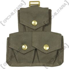 Webbing Triple ammo pouch for British 37 Pattern