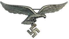 Luftwaffe Silver Metal Tunic Eagle