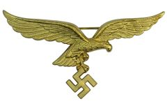 Luftwaffe Generals Gold Metal Tunic Eagle