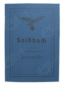 German Luftwaffe Soldbuch