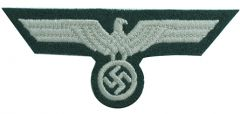 Early War EM Heer Tunic Eagle - Dark Green Backing