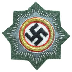 WWII Order of the German Cross - Cloth Gold Class