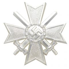 War Merit Cross 1st Class with Swords Pinback