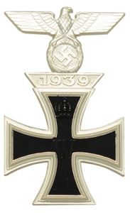 1914 Iron Cross 1st Class Pinback With 1939 Spange Bar