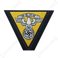 WW2 German NSKK BEVO Cap Eagle - Gold Yellow