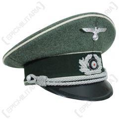 German Army Officers Visor cap