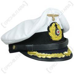 WW2 German Kriegsmarine U-Boat Senior Officer Visor Cap