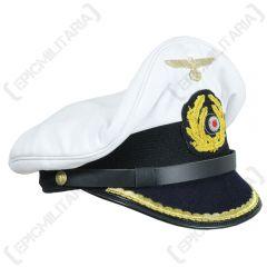 WW2 German Kriegsmarine Uboat Junior Officer Visor Cap
