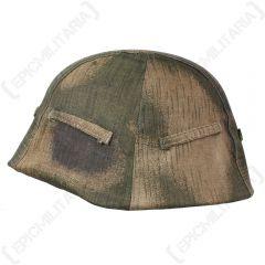 German Tan and Water Helmet Cover