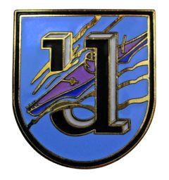 1st Flotilla U-Boat Badge - Weddigen
