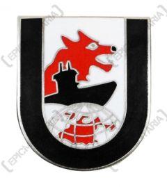 12th Flotilla U-Boat Badge - Wolf