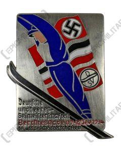 SS-SA Ski Competition Badge - Berchtesgaden 1934